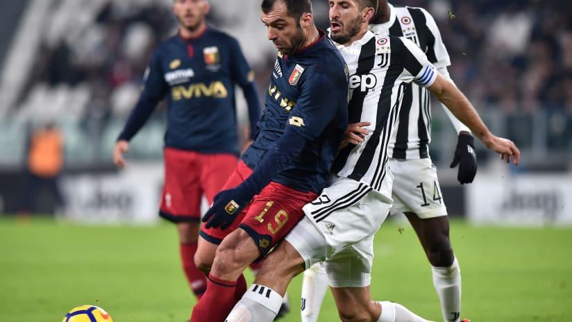 Numbers | Juventus - Genoa