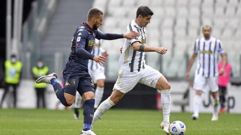 Pitchside view | Matchweek 30 | Juventus - Genoa
