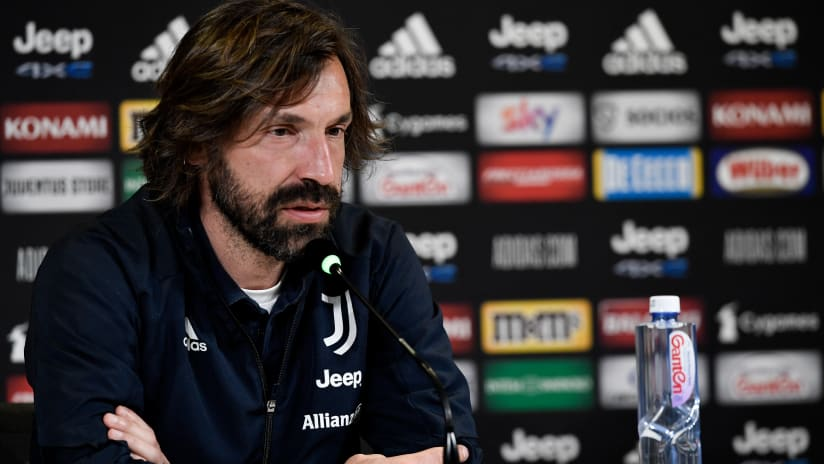 Pirlo's comments on the eve of Juventus - Parma