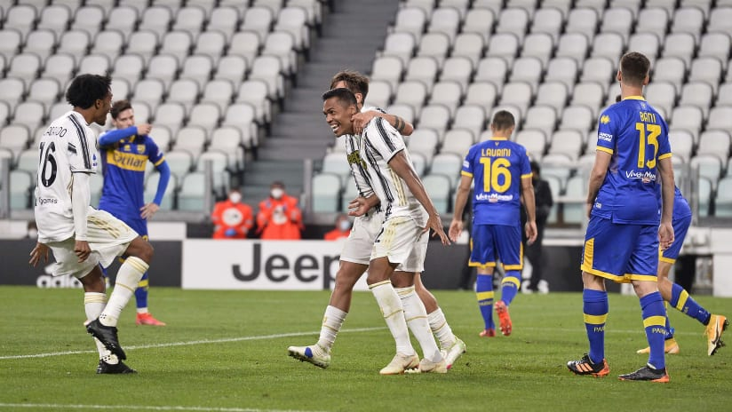 Juventus - Parma | Alex Sandro: «Happy for the win»