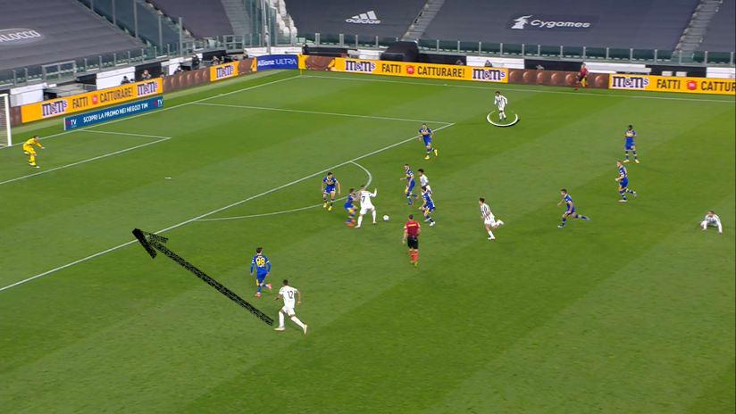 Il secondo gol Alex Sandro