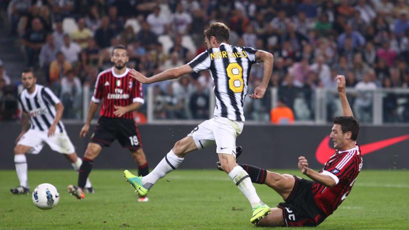 Juventus - Milan | Marchisio's brace in 2011