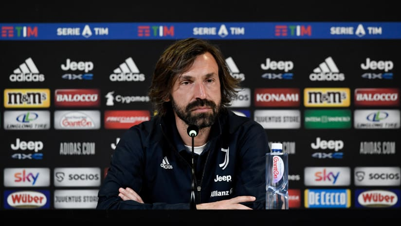 Pirlo's comments on the eve of Juventus - Milan