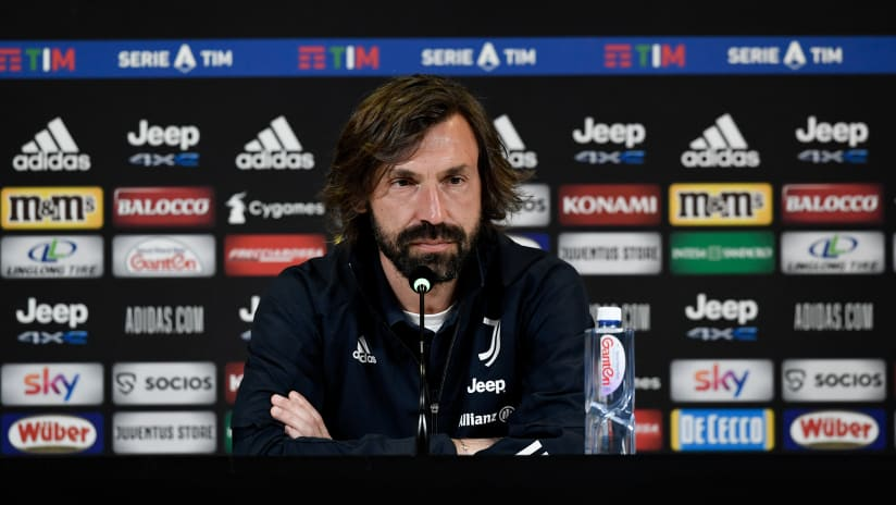 Pirlo's comments on the eve of Sassuolo - Juventus