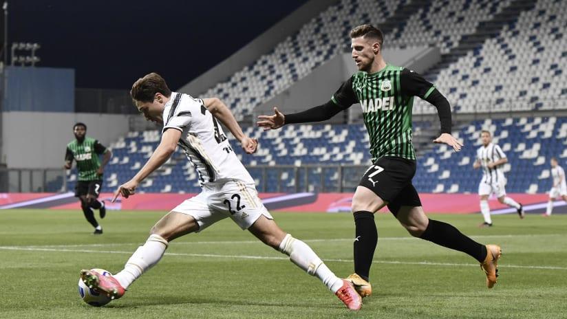 Pitchside view | Matchweek 36 | Sassuolo - Juventus