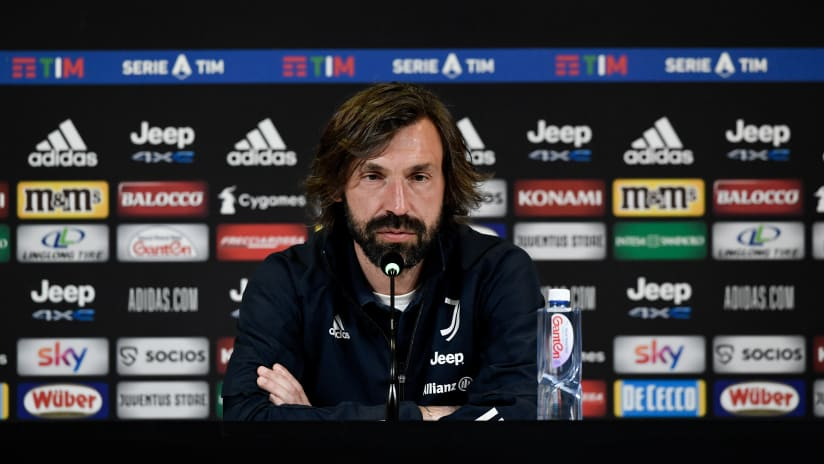 Pirlo's comments on the eve of Juventus - Inter