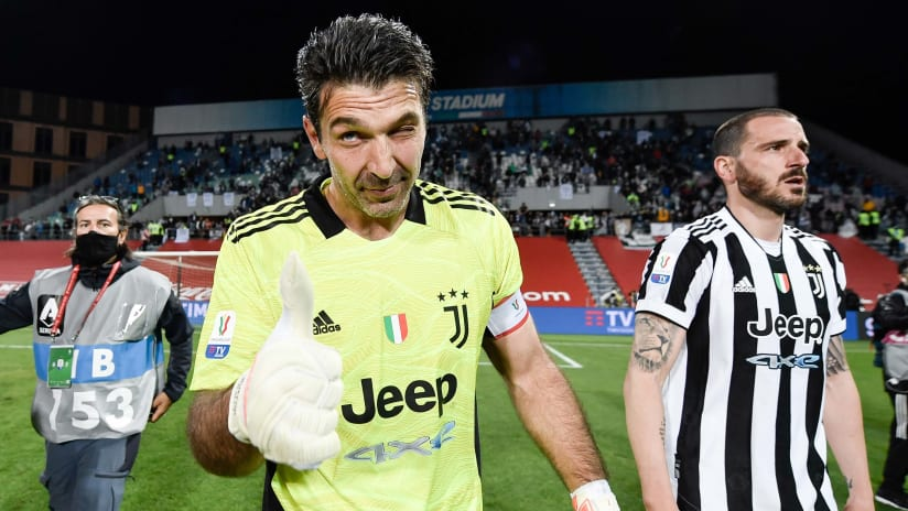 Atalanta - Juventus | Buffon: «Orgoglioso di aver finito così»