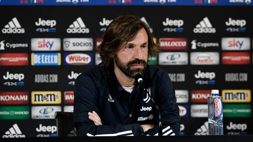 Pirlo's comments on the eve of Bologna - Juventus