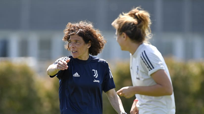 Women | Coach Guarino on the eve of the final Serie A match