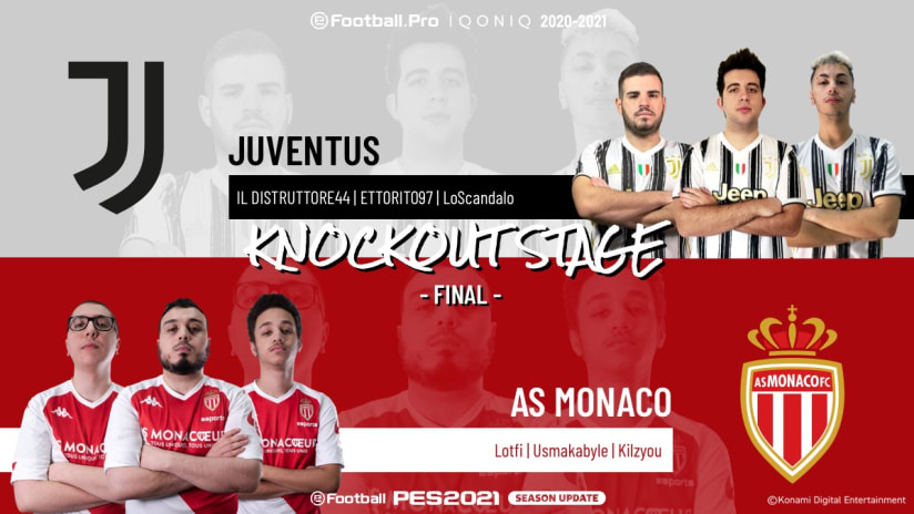 eSports | Finale | Juventus - AS Monaco