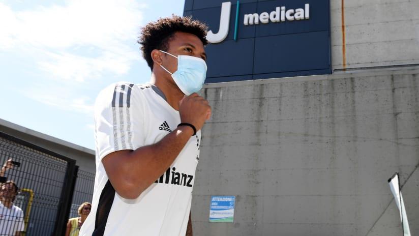 Juventus Players Return for Pre-Season Medicals!