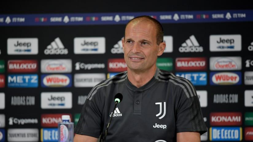 Coach Allegri previews Udinese - Juventus