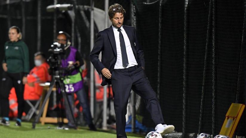 UWCL | Juventus Women - Vllaznia | La soddisfazione di Montemurro