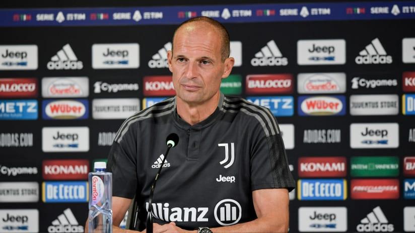 Coach Allegri previews Napoli - Juventus