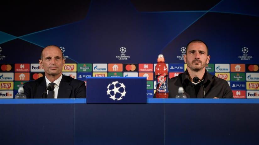 Press Conference | Allegri and Bonucci previews Malmö - Juventus