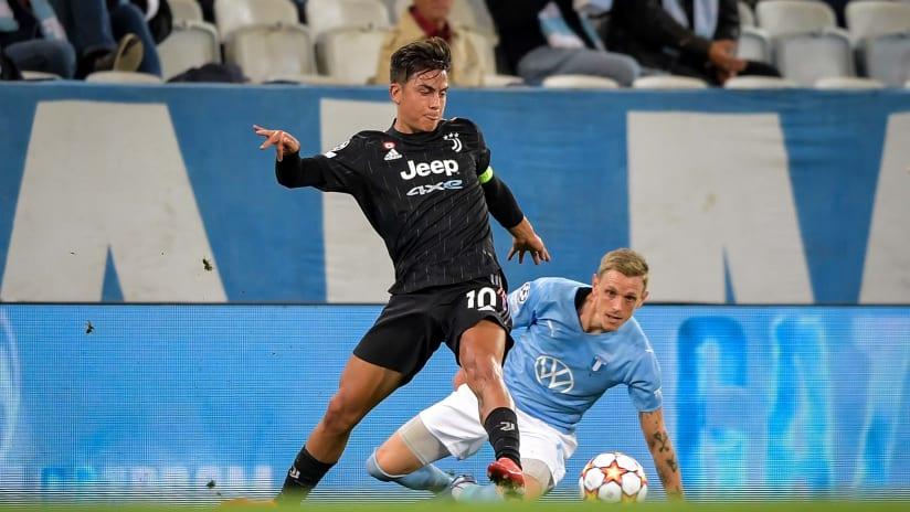 "Malmö - Juventus | Dybala: ""We won by playing well"""