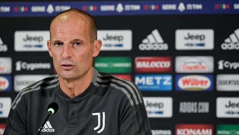 Coach Allegri previews Spezia - Juventus