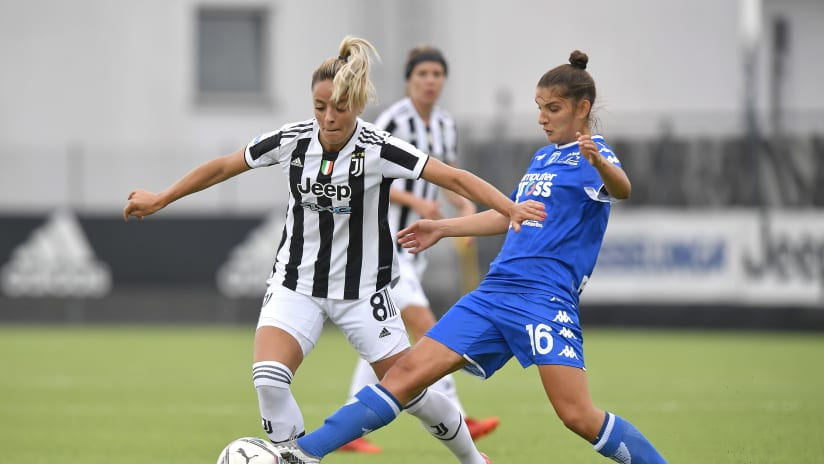 Women   Juventus - Empoli   Rosucci: «Partita intensa, vittoria importante»