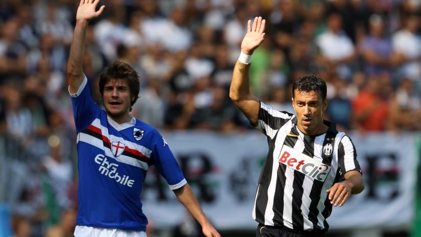 Juventus - Sampdoria   Il grande ex: Fabio Quagliarella