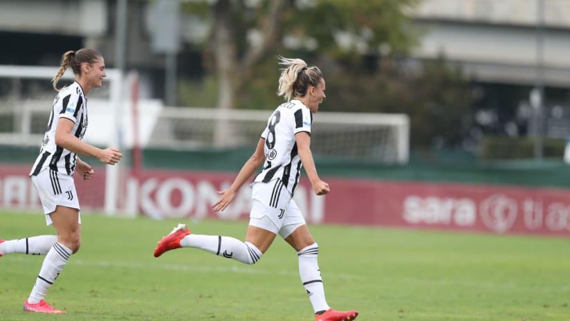 Women | Roma - Juventus | Rosucci's joy