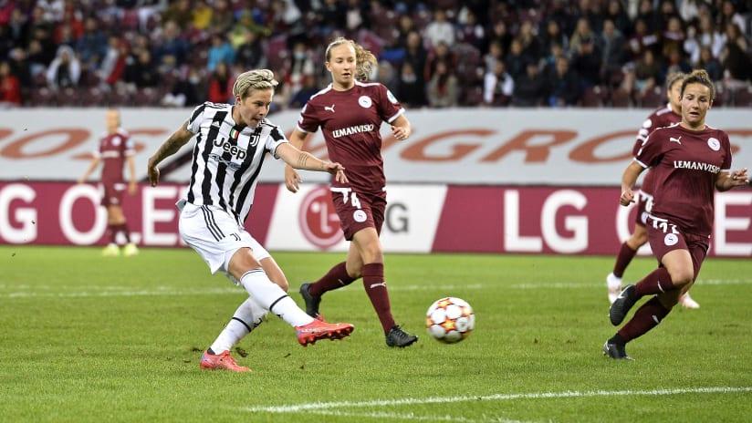 "Servette - Juventus Women | Hurtig: ""I'm really happy"""