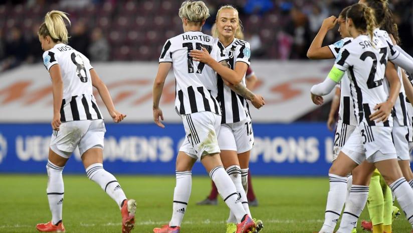 "Servette - Juventus Women | Lundorf: ""We played a beautiful football"""