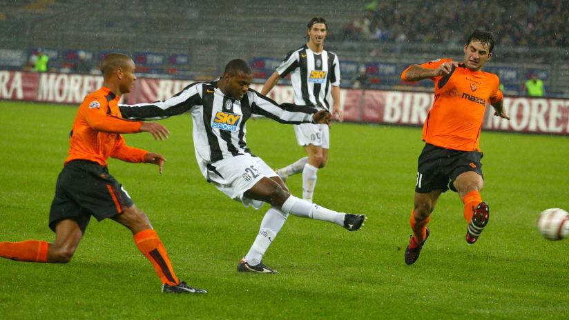 Juventus - Roma   I 10 momenti clou della sfida del 2004