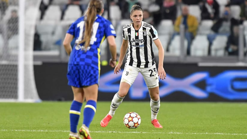 Juventus Women - Chelsea | Cecilia Salvai's analysis