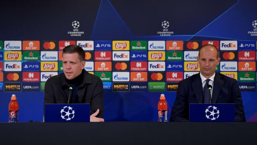 Press Conference | Allegri and Szczesny previews Zenit - Juventus