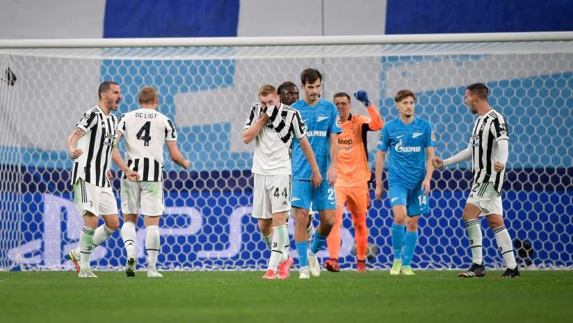 Zenit - Juventus | The words of Kulusevski and de Ligt
