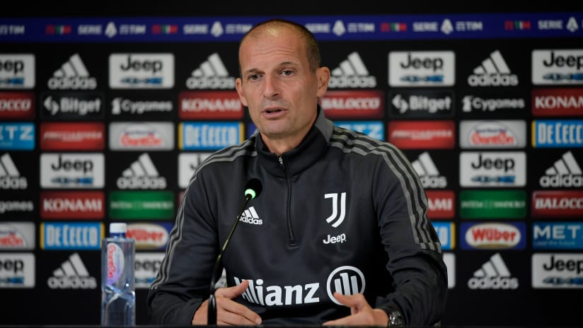 Coach Allegri previews Inter - Juventus
