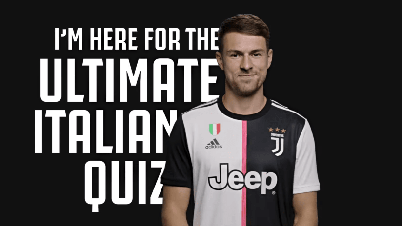 Aaron Ramsey takes on the Ultimate Italian Quiz!