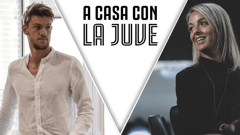At home with Juve | Rosucci and Rugani