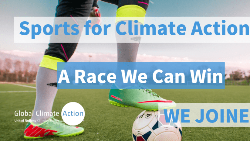 sports climate action