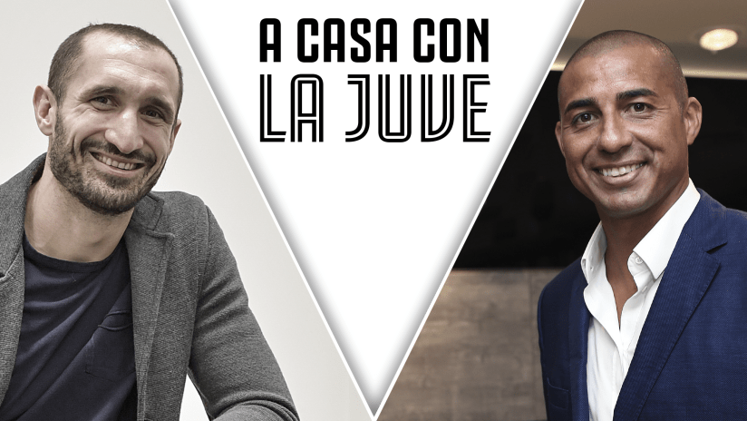 At home with Juve | Chiellini and Trezeguet