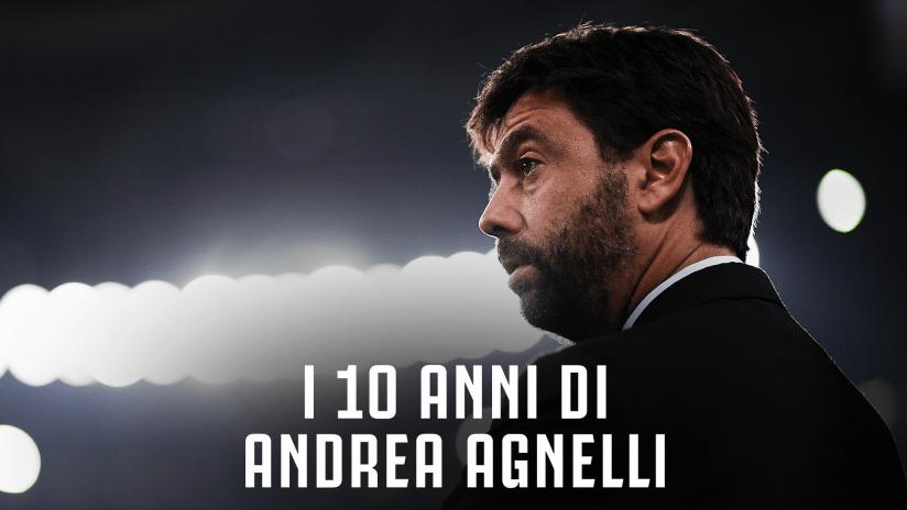 I 10 anni di Andrea Agnelli