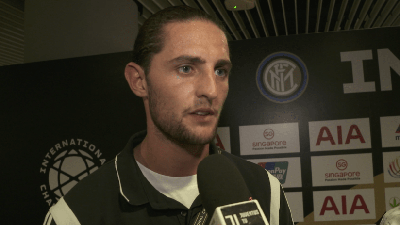 Juventus - Tottenham | Rabiot: «Overall it was a good match»