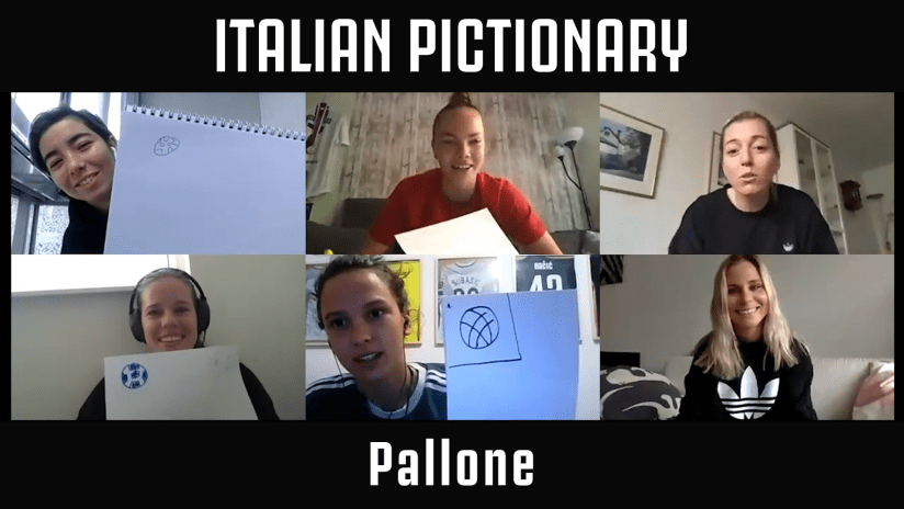 "Women at home ep. 3 | ""Italian Pictionary"""