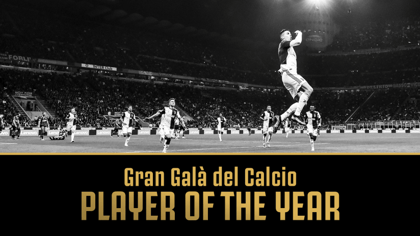 Gran Galà del Calcio | Player of the Year: Cristiano Ronaldo