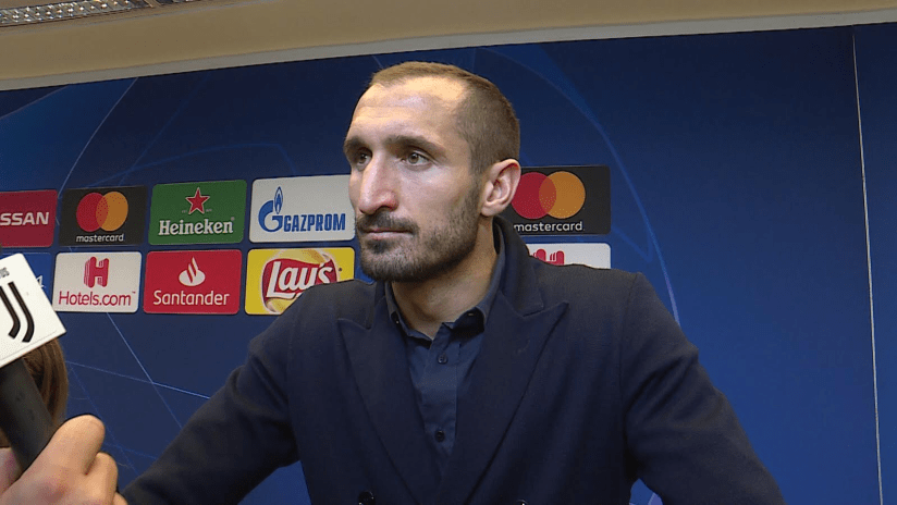 Juventus - Manchester United | Chiellini: «Dobbiamo migliorare»
