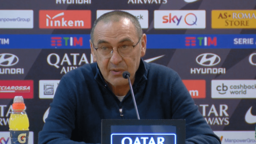 Conferenze stampa   Post Roma - Juventus