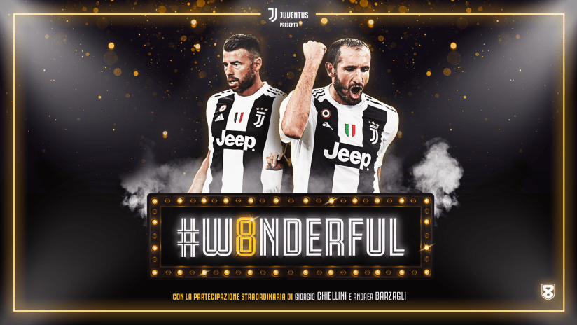#W8NDERFUL | Guest stars: Chiellini and Barzagli