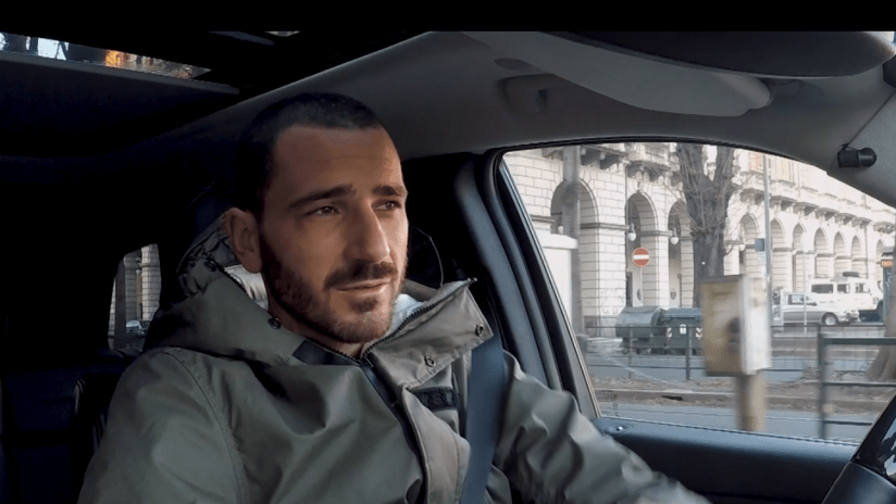 Players on the road | Leonardo Bonucci