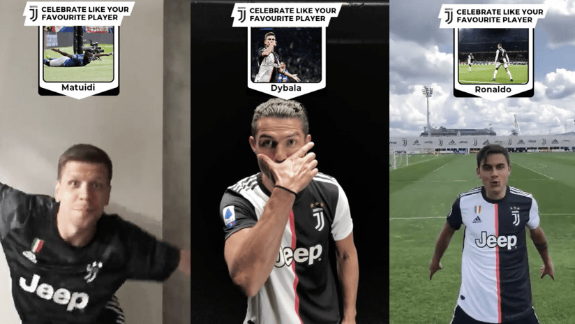 Juventus is now on TikTok! | The Best Fan Submitted Celebrations!