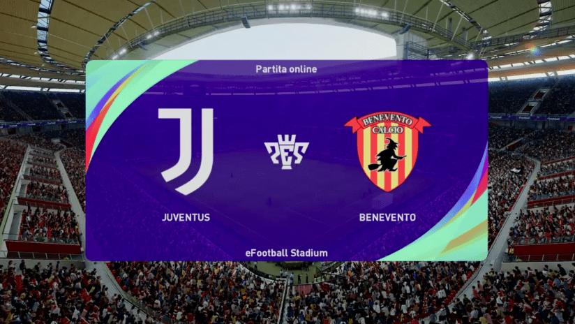 Esports | Amichevole | Juventus - Benevento
