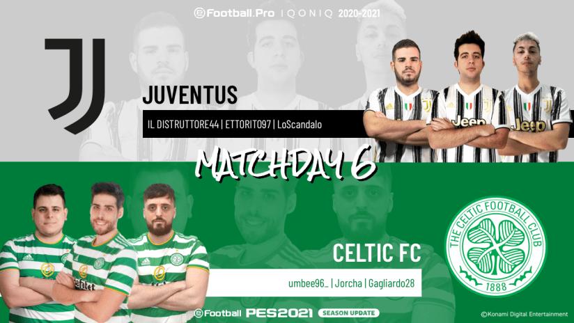 eSports | Matchweek 6 | Juventus - Celtic