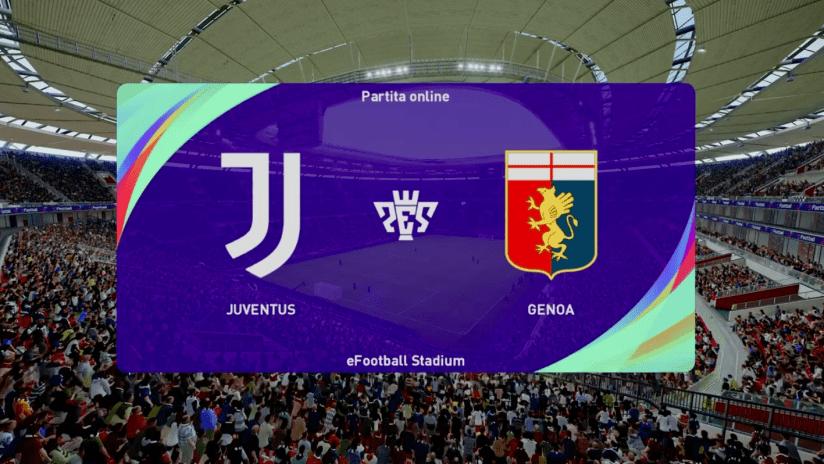 Esports | Amichevole | Juventus - Genoa