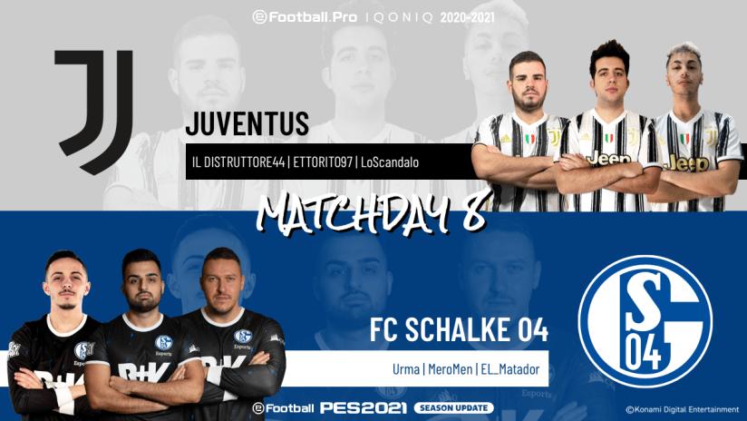 eSports | Matchweek 8 | Juventus - Schalke 04