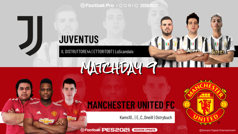 eSports | Matchweek 9 | Juventus - Manchester United