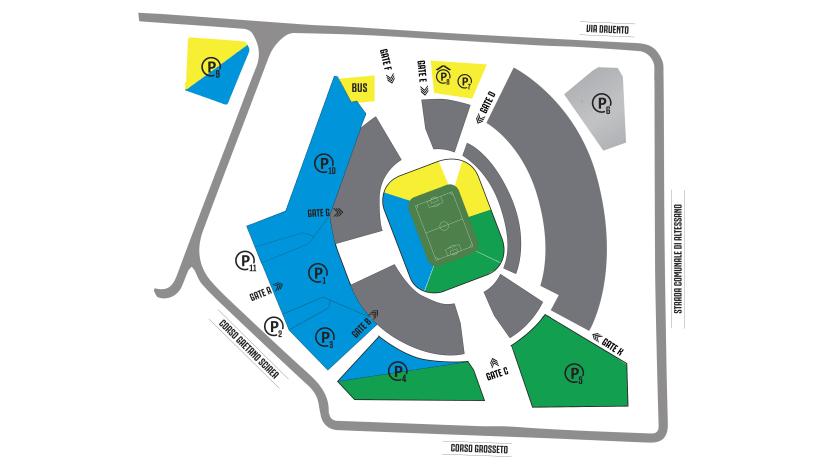 Parcheggi-Stadium